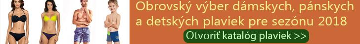 Online katalóg - Dámske PLAVKY, bikini, jednodielne, pánske, detské - cena 2018