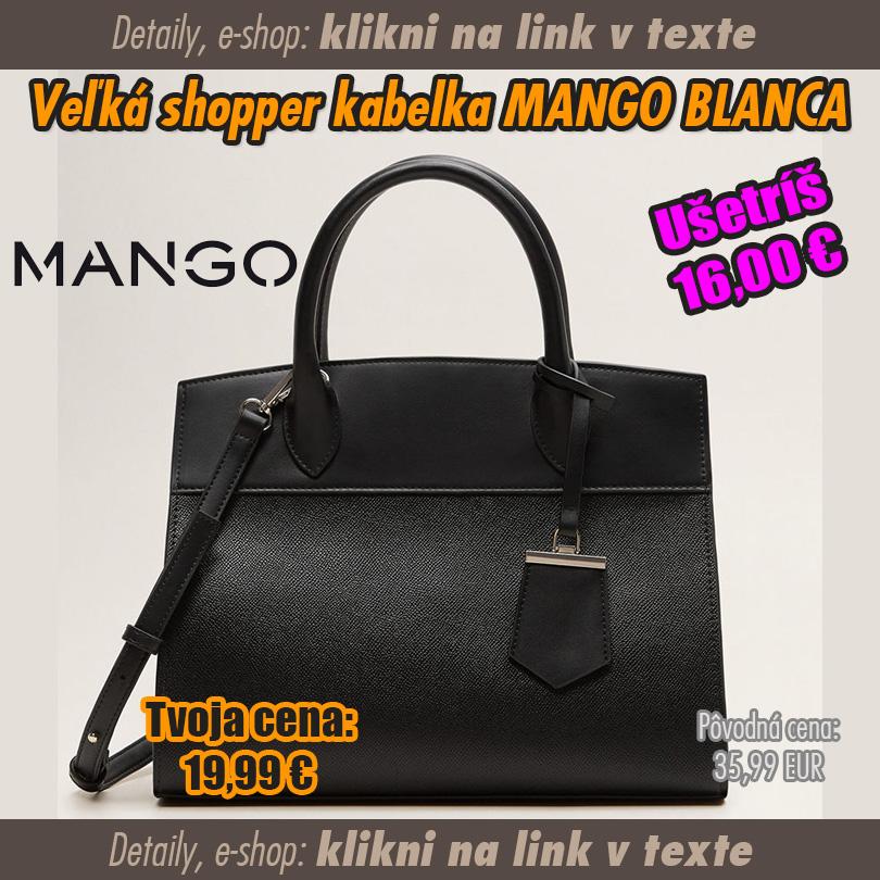 Shopper kabelka MANGO BLANCA - SUPERWEB  Super ponuky d1e034ba52d